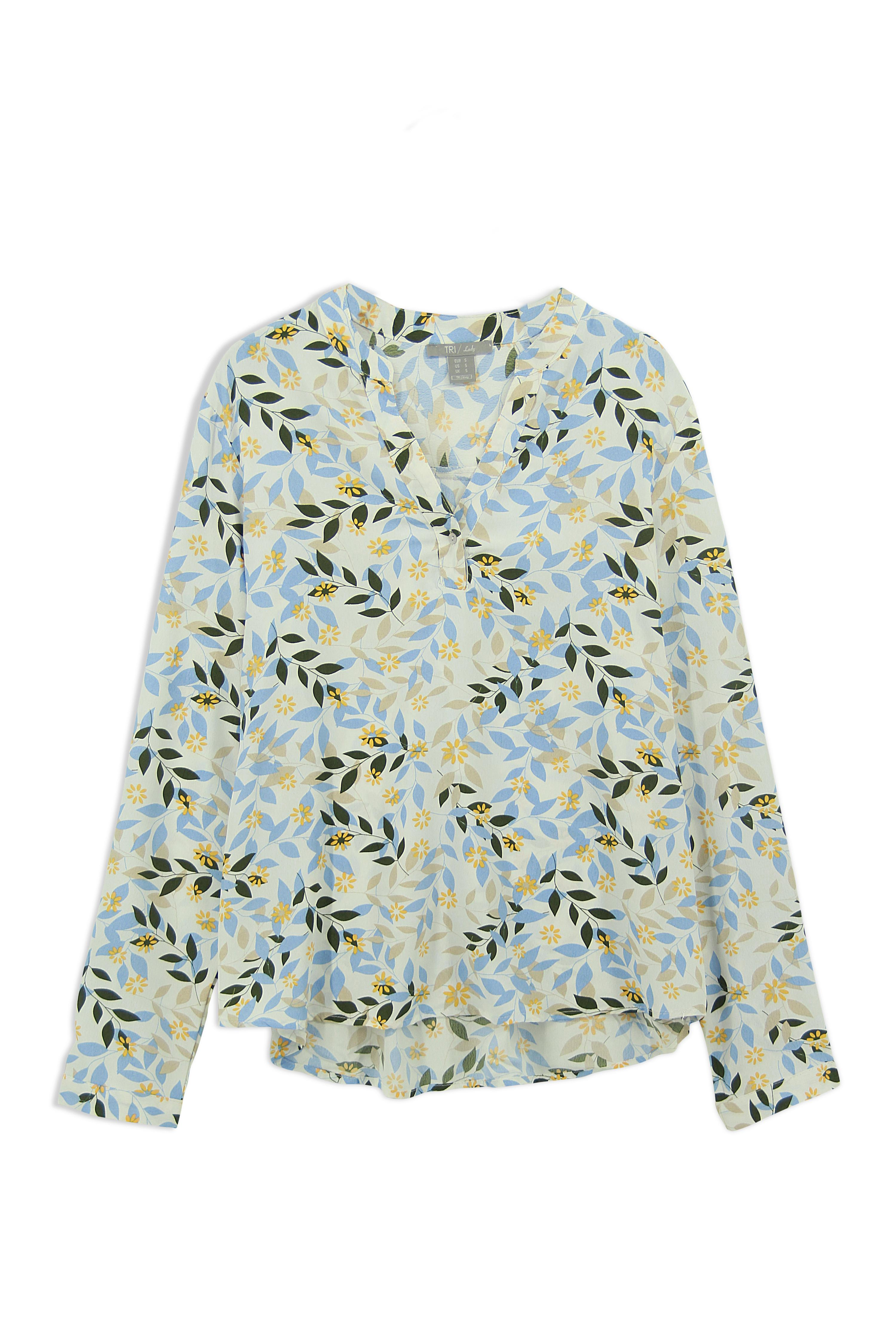 Lady Blouse Floral (LBF-4017)