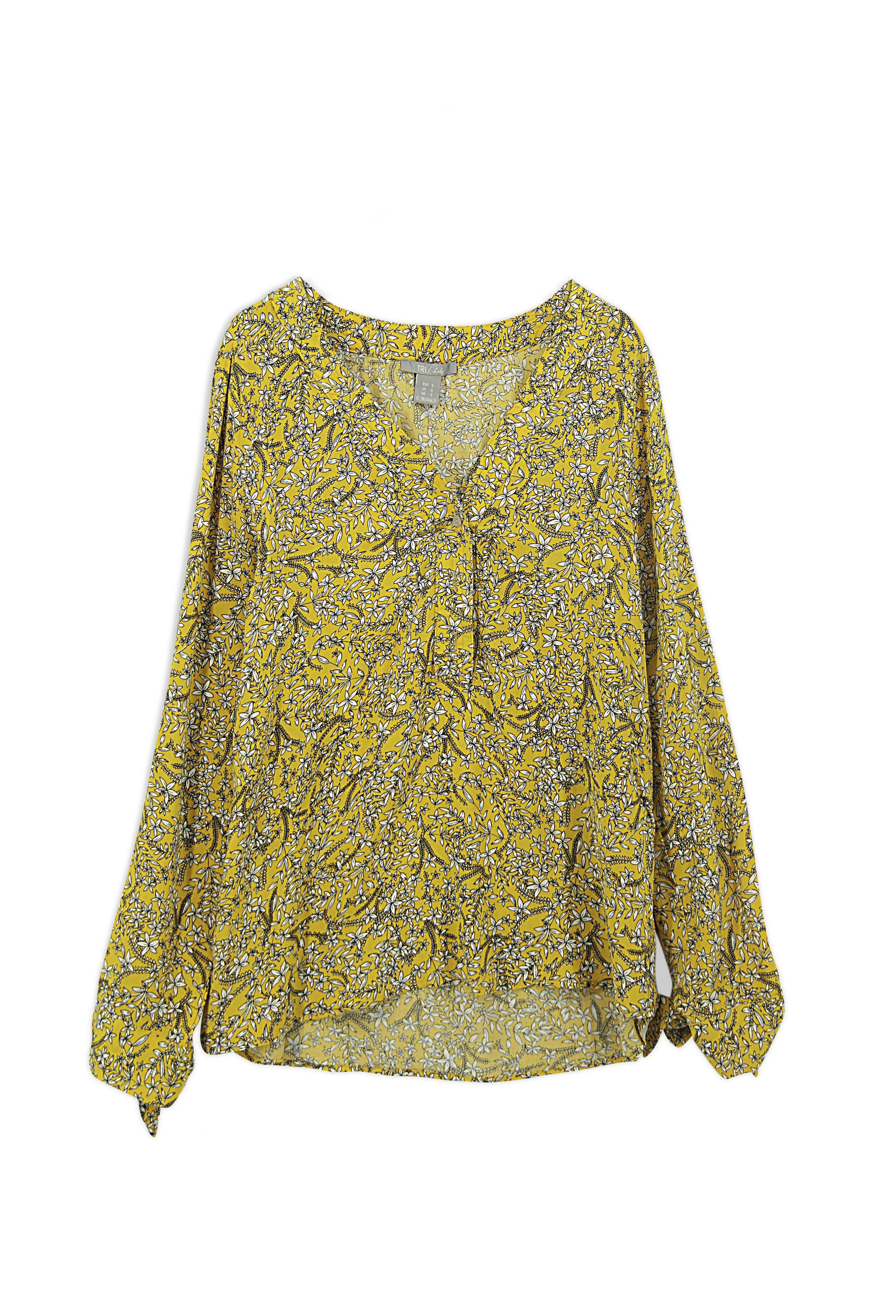 Lady Blouse Floral (LBF-4019)