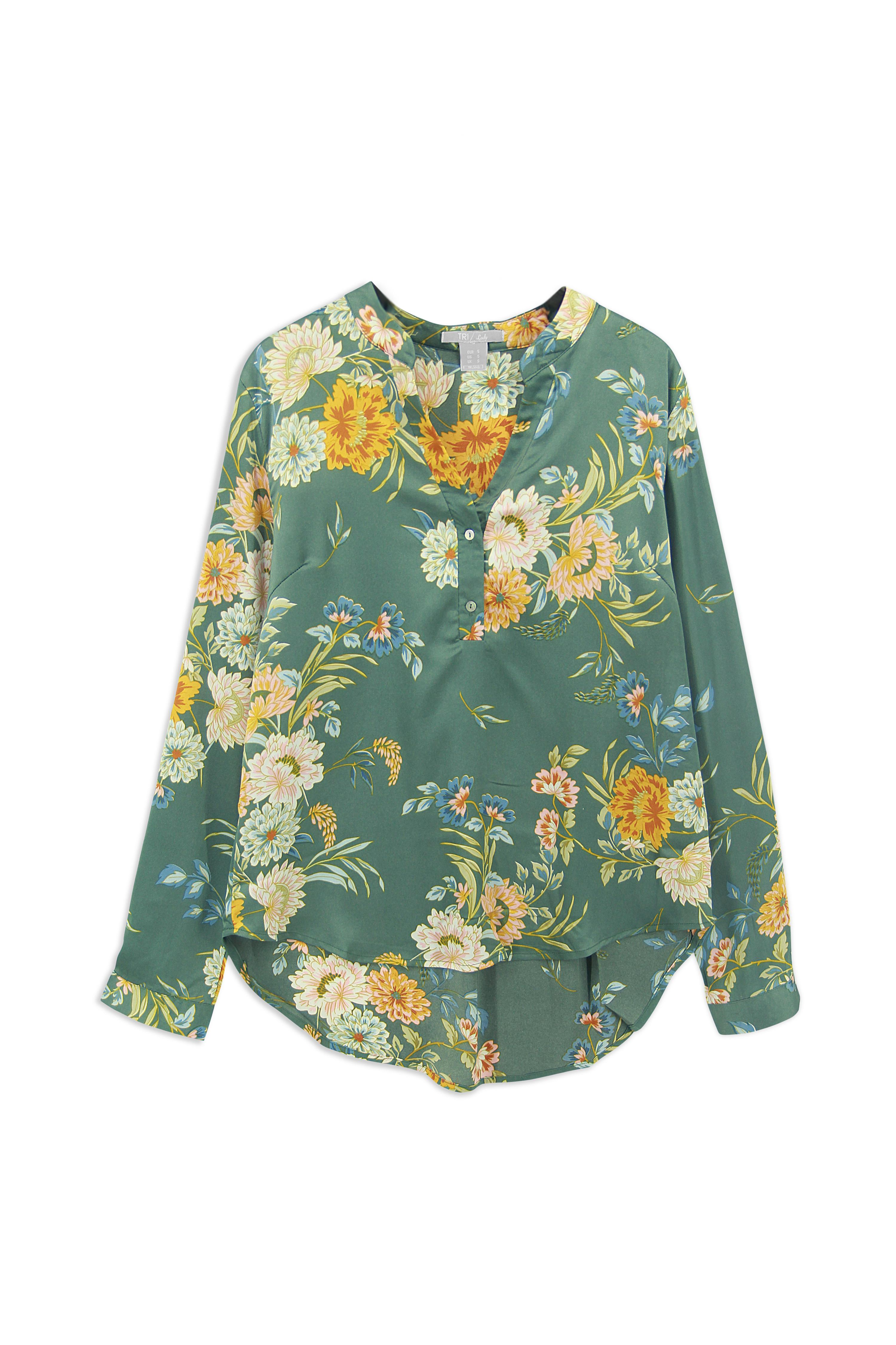 Lady Blouse Floral (LBF-4016)
