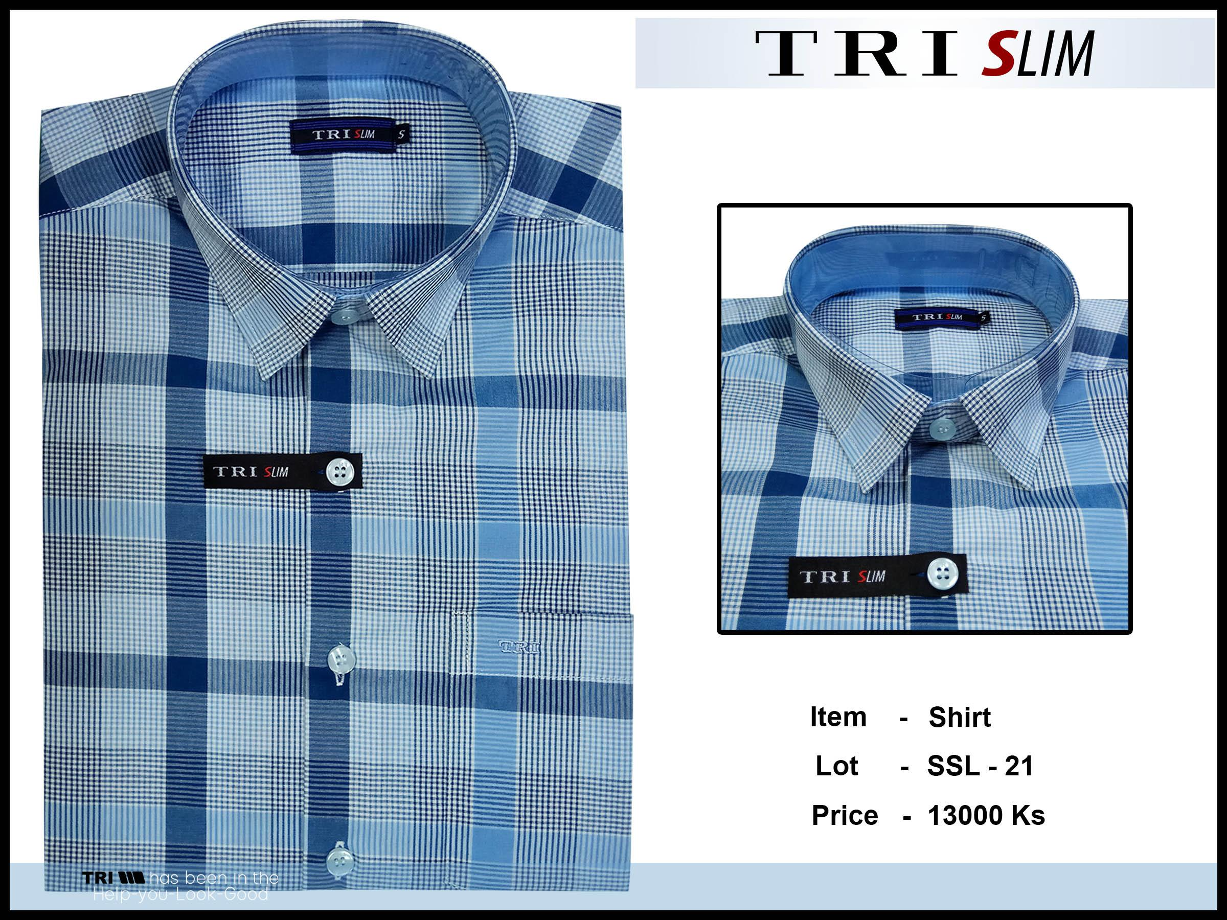 Tri Slim Shirt SSL - 21 - 8