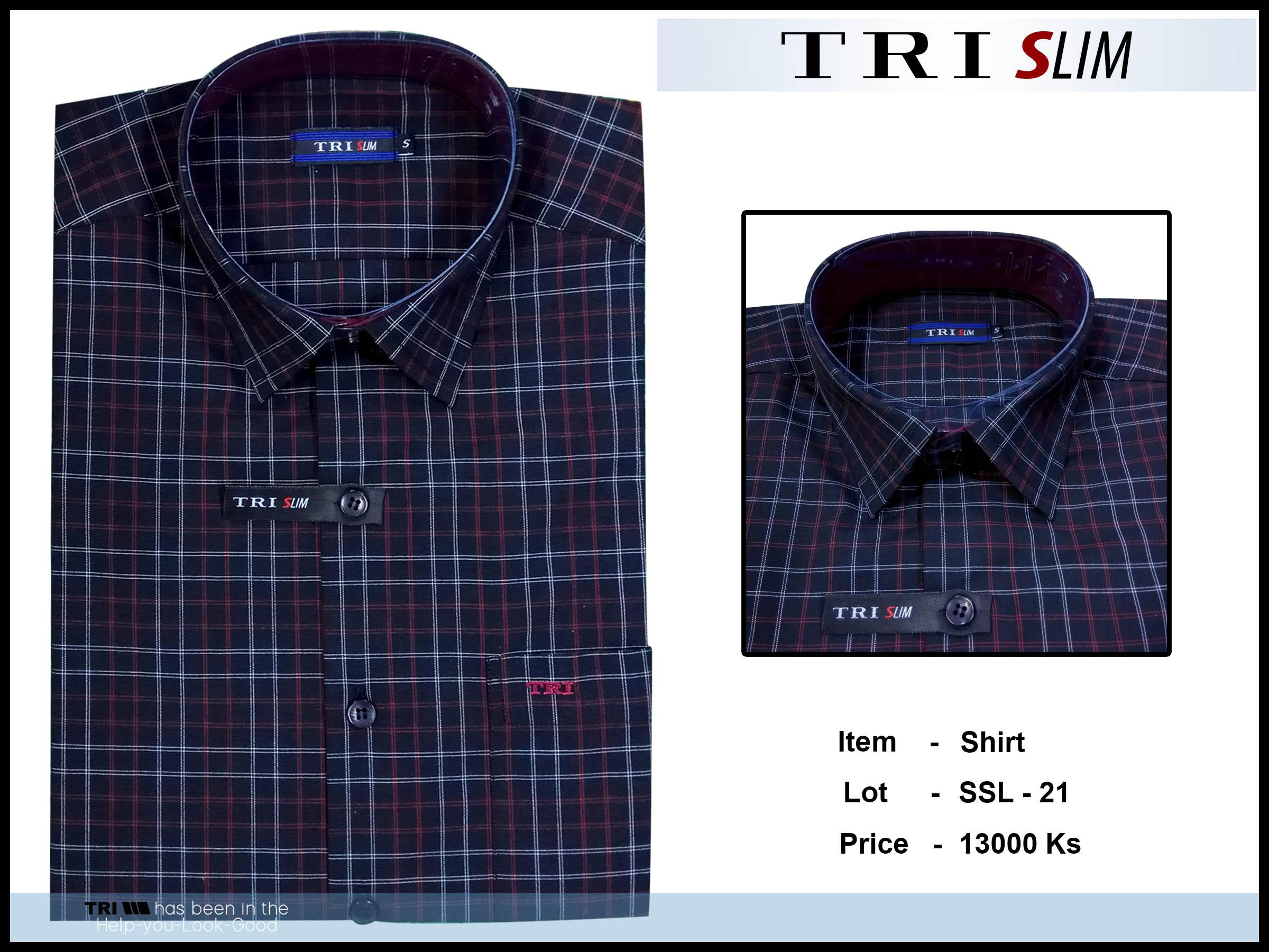 Tri Slim Shirt SSL - 21 - 9