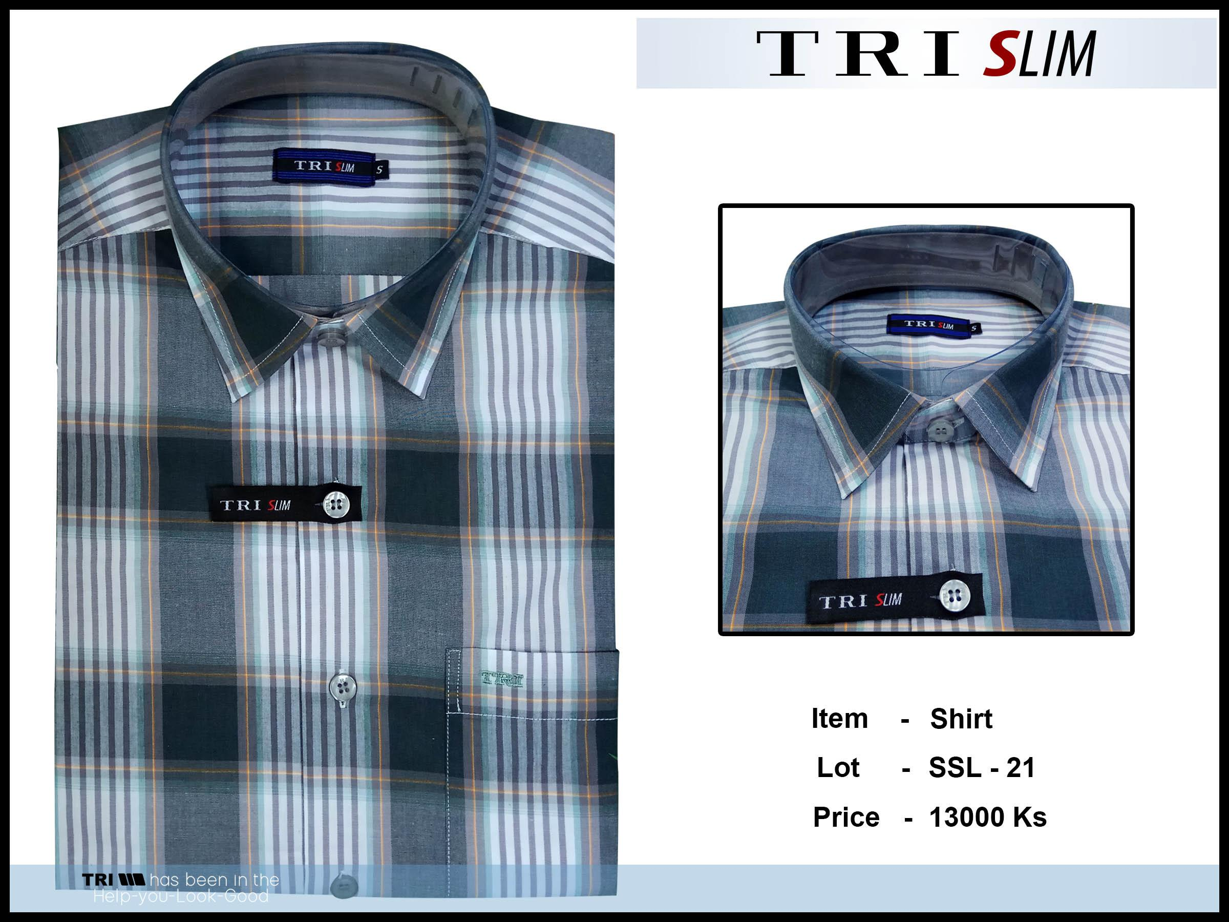 Tri Slim Shirt SSL - 21 - 7