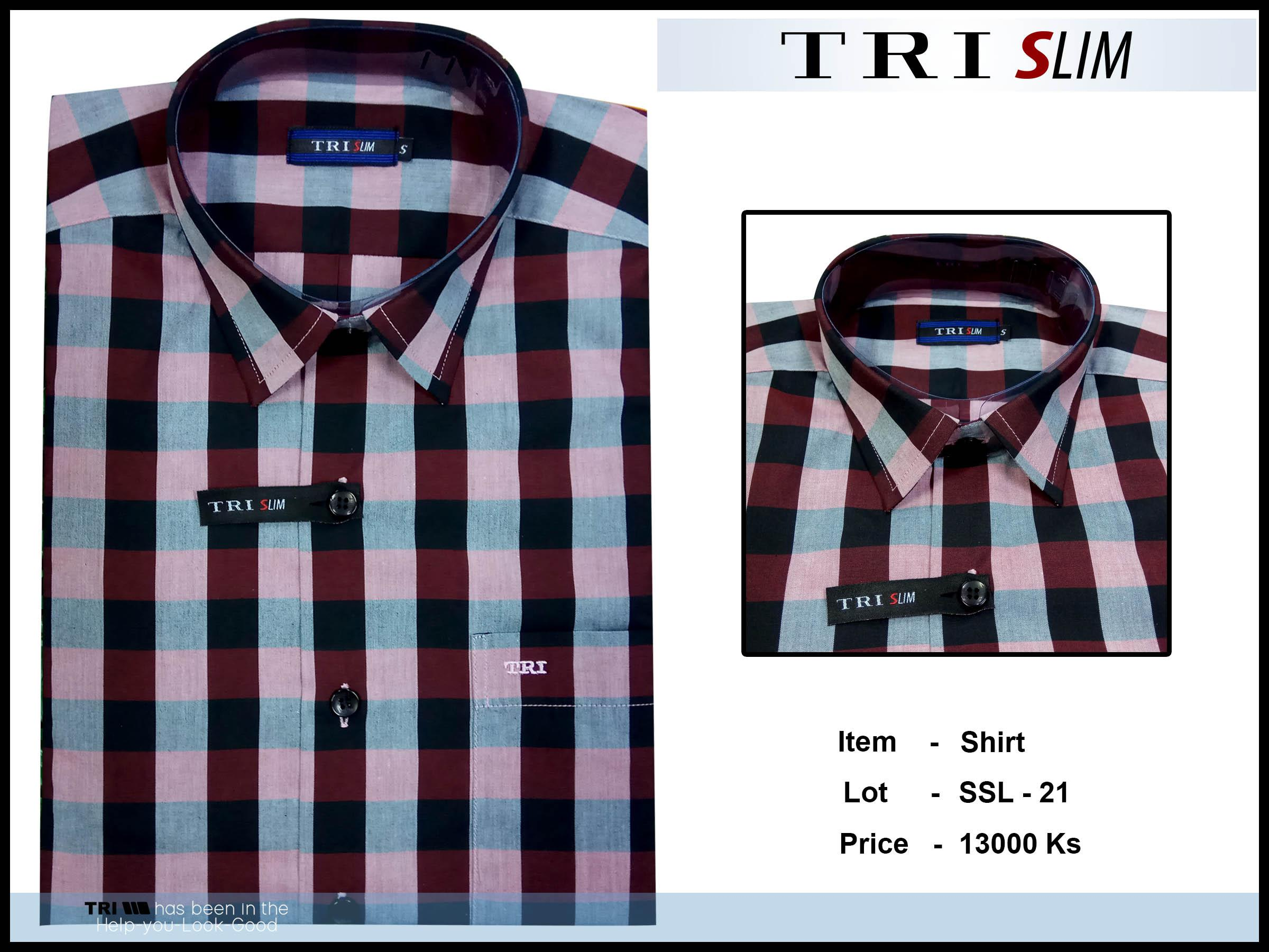 Tri Slim Shirt SSL - 21 - 12