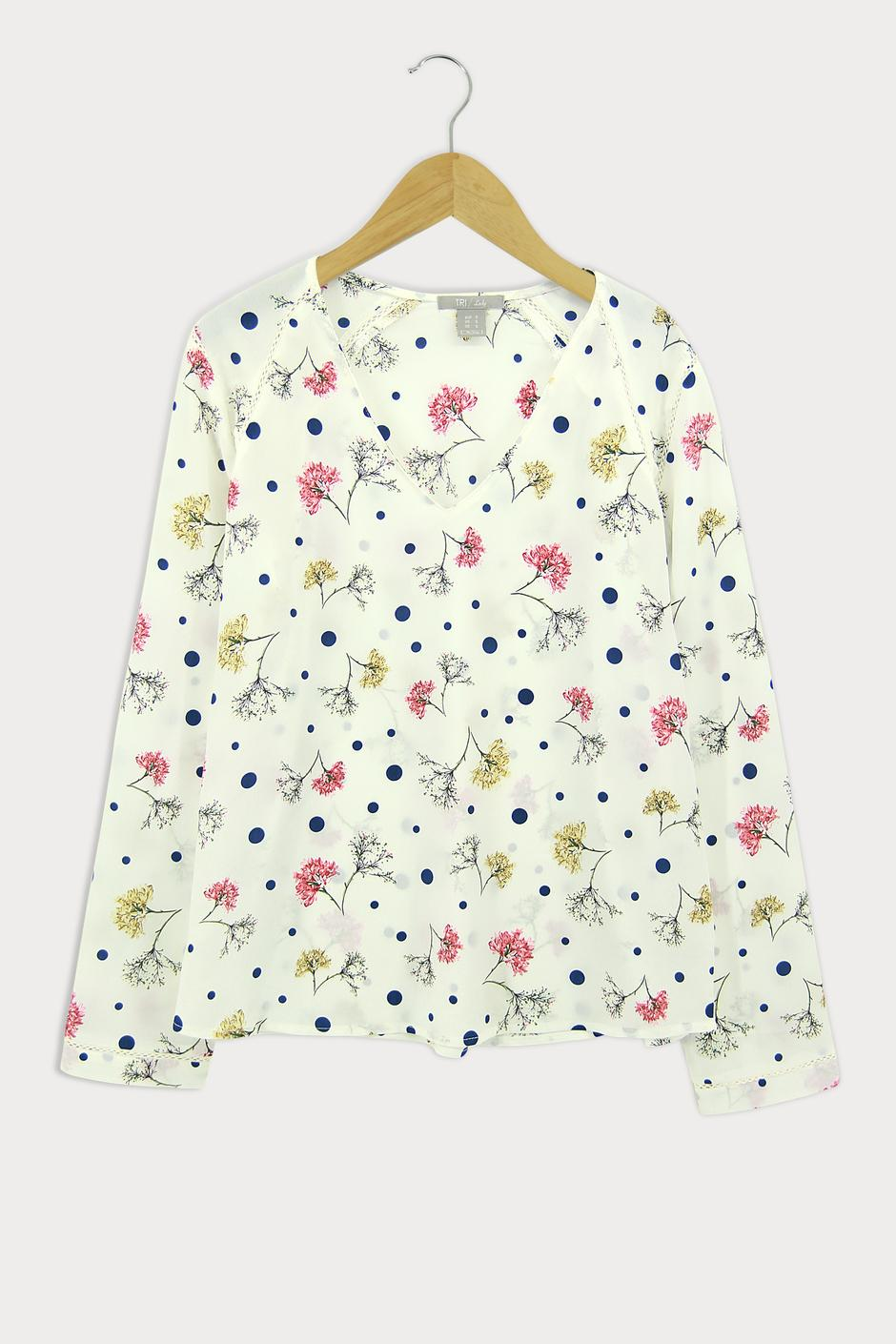 Lady Blouse Floral (LBF - 4013)